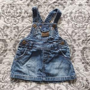 Baby Zara Denim Dress Size 6-9 M
